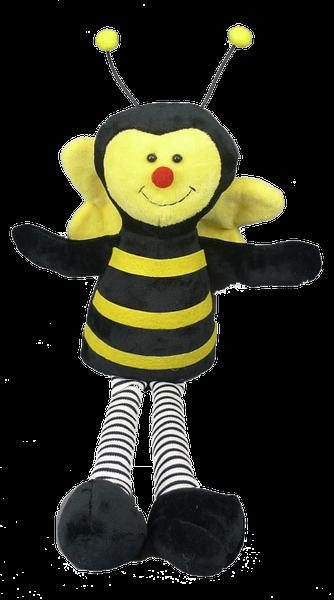 PLUSH BEE LONG LEGS 17L