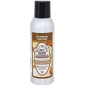 Pet Odor Exterminator Creamy Vanilla Air Freshener, 7-oz Bottle