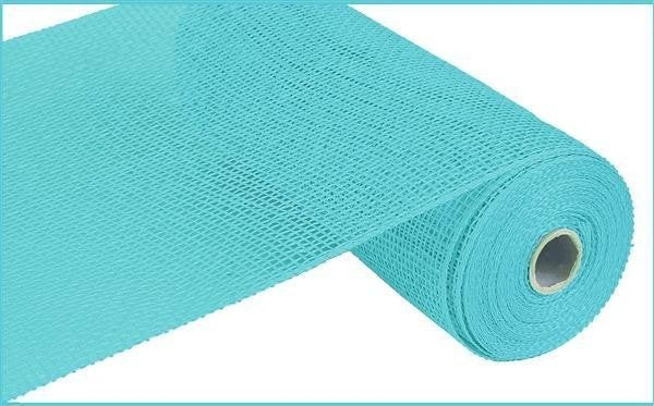 "10""X10yd Poly Burlap Mesh Turquoise"