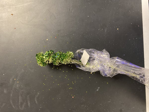 Glitter Green Spray