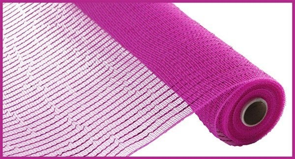 "21""X10YD WIDE FOIL MESH Color: Hot Pink W/Hot Pink Foil"