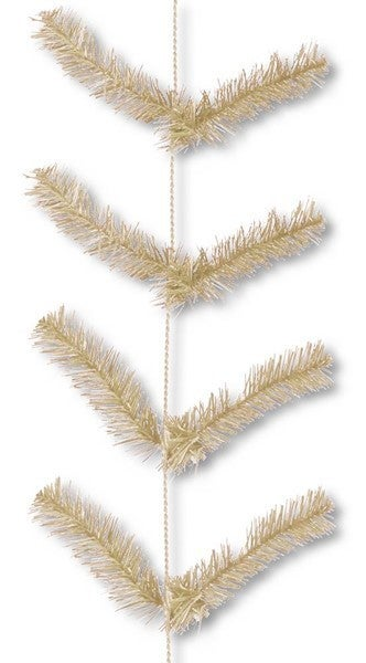 "12"" X 9' Work Garland X22 Ties Burlap"