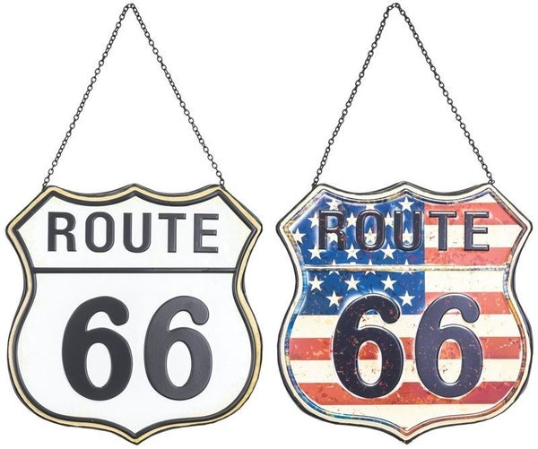 Road Sign Route 66 Hanger