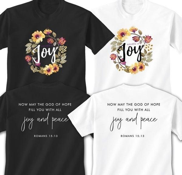 Wreaths of Joy T-Shirt