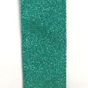 """Aqua All Flat Glitter 1.5""""x10yd"""