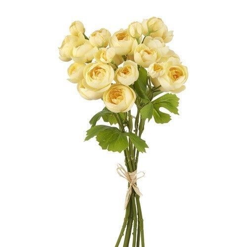 "12.5"" Yellow Ranunculus Bundle"
