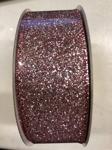 "DIAMOND DUST 1.5""X10Y / DUSTY ROSE"