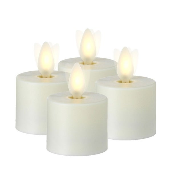 "1.5"" TEA LIGHT CANDLE Set of 4"