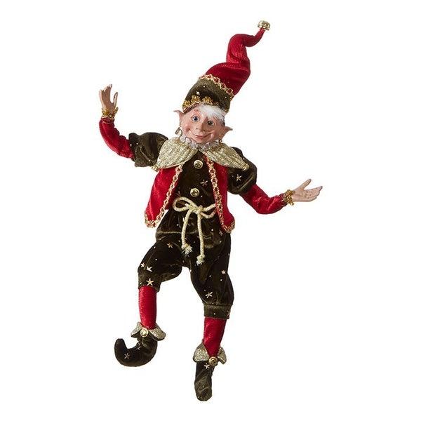 "16\"" POSABLE ELF Classic Christmas"