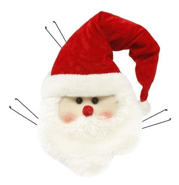 "15""H Santa Head Decor"