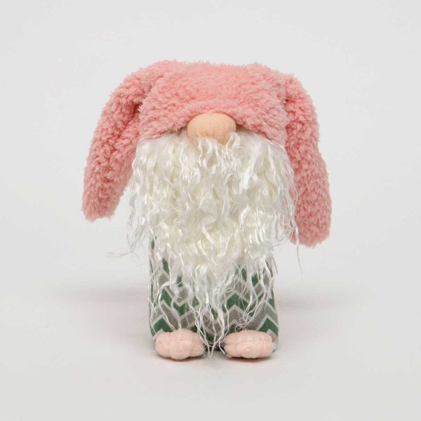 HOBBIT BUNNY with Pink FLOPPY KNOT
