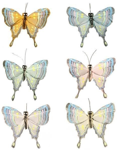 "2.75"" Butterfly With Wire (Dozen)"