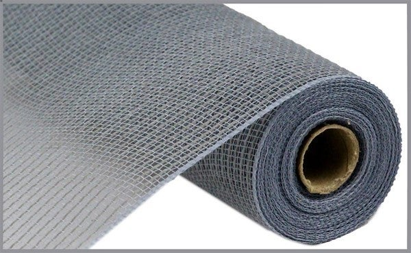 "10.5""X10yd Faux Jute/Pp Stripe Grey"