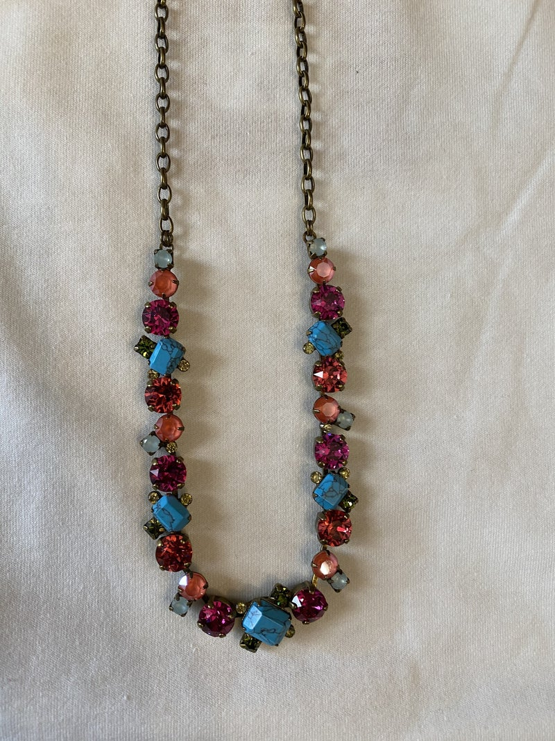 Botanical brights necklace
