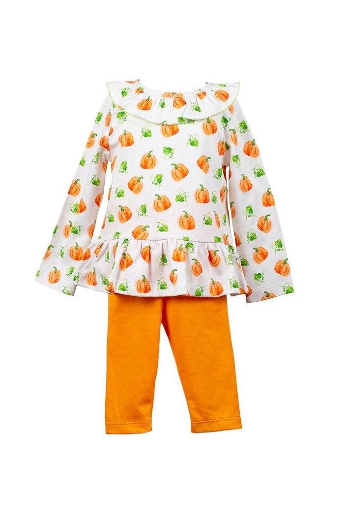 Parker Pumpkin tunic/legging set