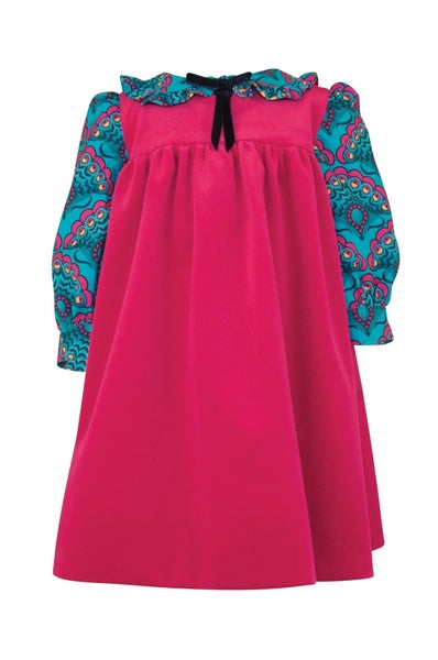 Eugenia pinafore & blouse set