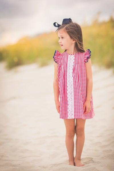Kennedy Pleat Dress