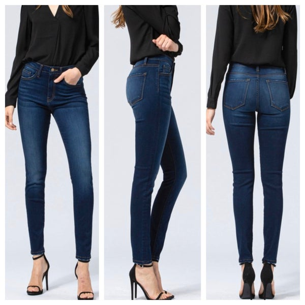 Hi-Rise Ankle Skinny jean