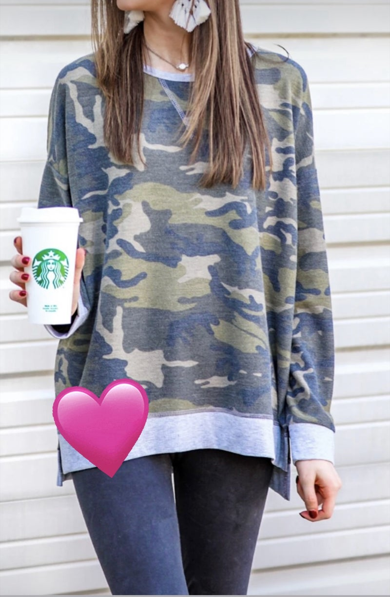 Hi-Low Camo Tunic