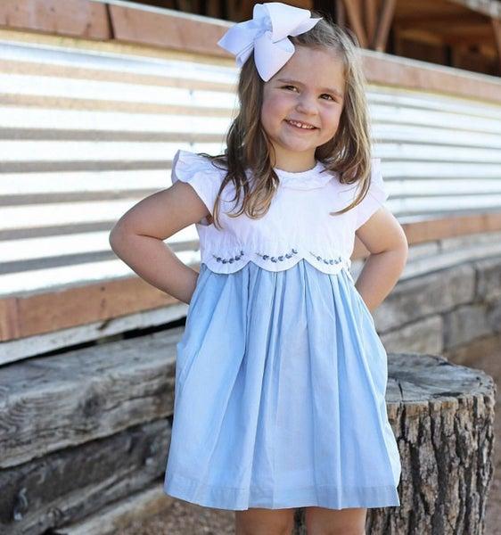 Brenham Bluebonnet Dress
