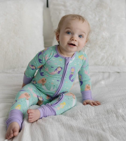 Little Sleepies Mermaid Magic Romper