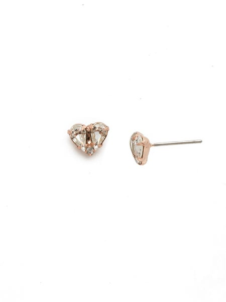 Rose gold stud