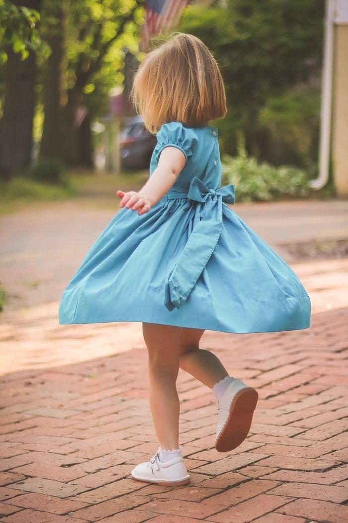 London Scalloped Dress