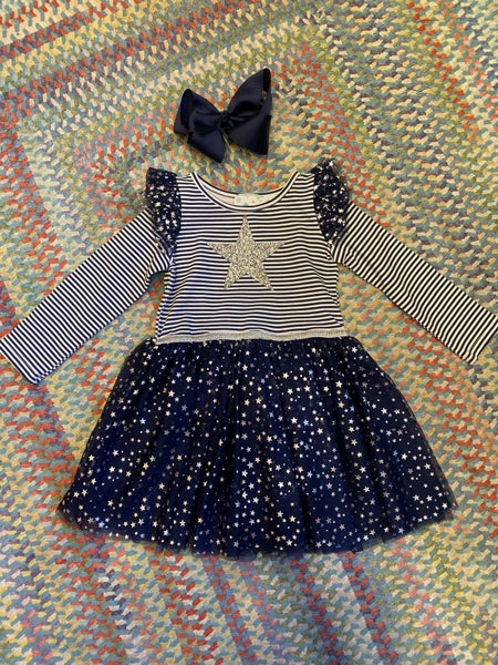 Stripe Star dress