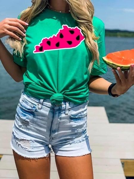 KY Watermelon tee