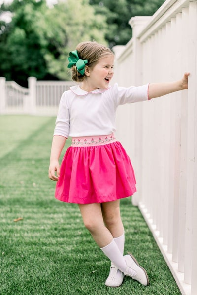 Phoebe Pink Twirl Skirt