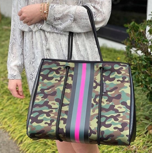 Large Tote-Pink Army