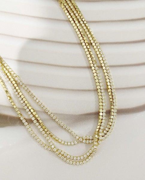 Sienna Tennis Necklace