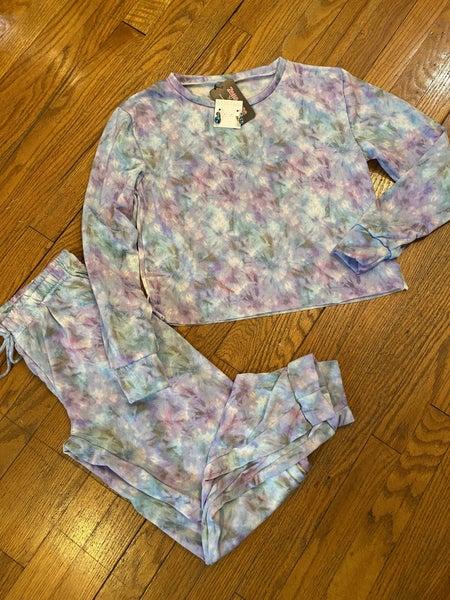Retro Tie Dye Set