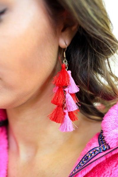 Demi tassel earring