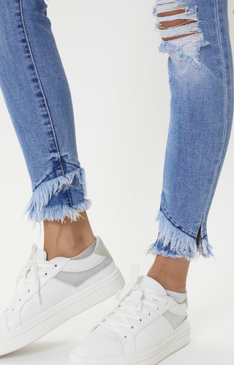Midrise ankle jean
