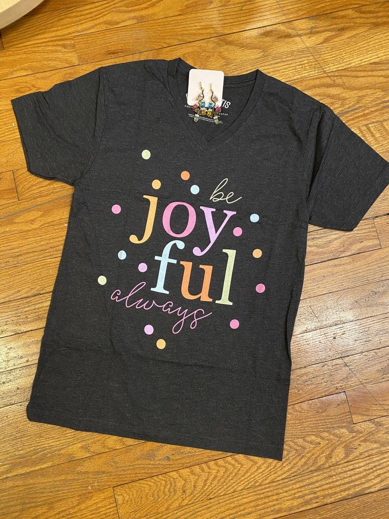 Confetti Joy tee